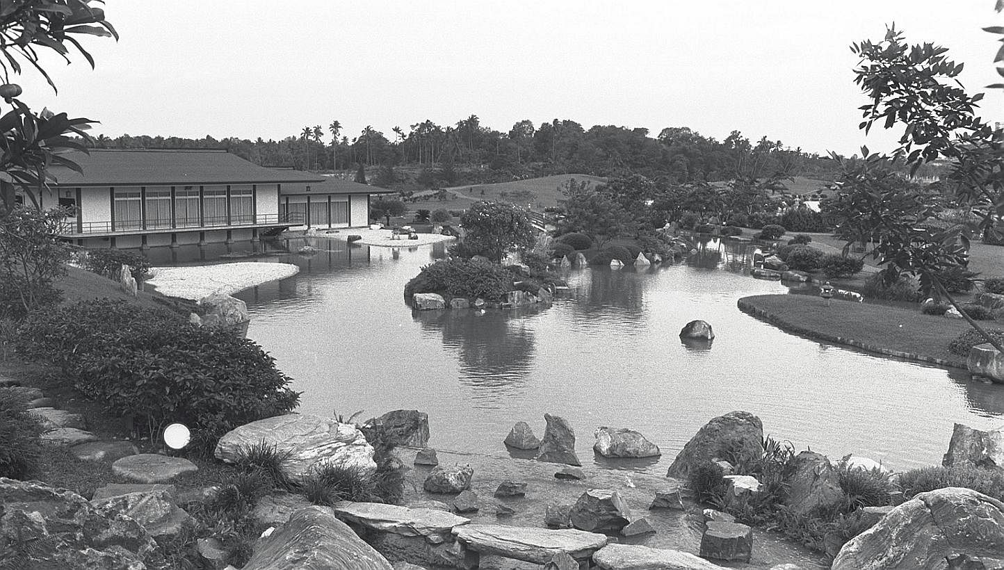 Chinese And Japanese Gardens Now And Then Singapore News Top Stories The Straits Times