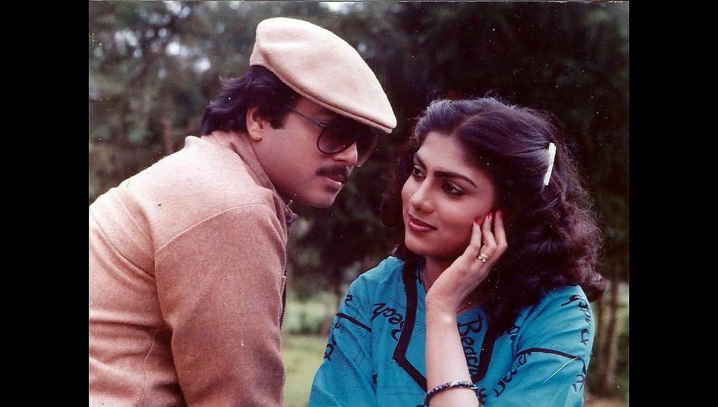 Singaporean actress Ranjini, shining star of 1980s Malayalam