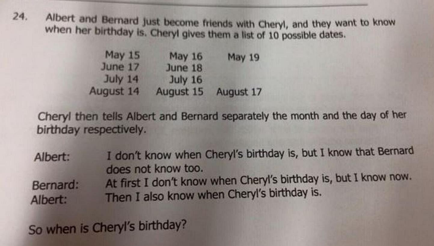 Critical thinking math questions