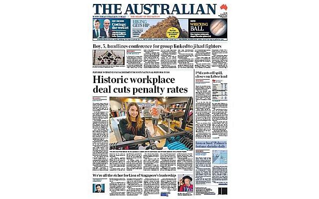 GPnewspaperaustralian2403