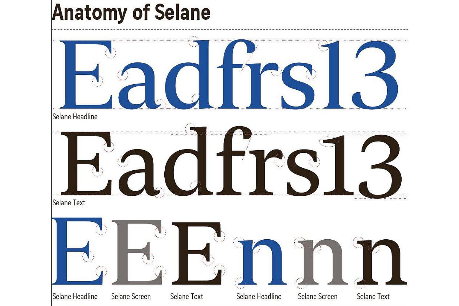 ST font wins design awards, Singapore News & Top Stories - The ...