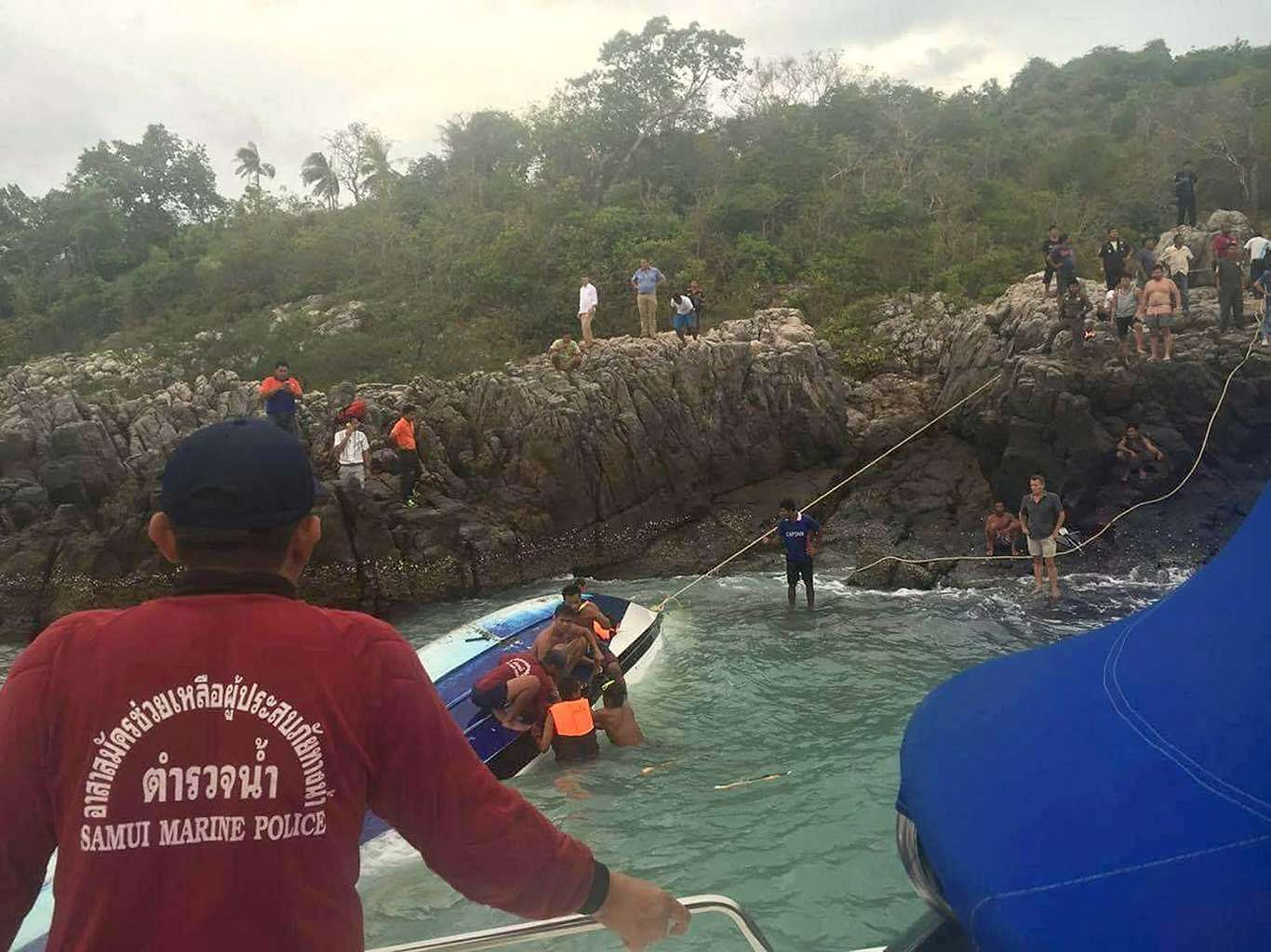 Three tourists killed, one missing in speed boat accident