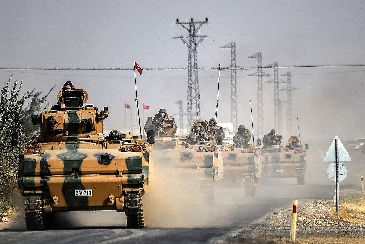 EUA rechaçam combate entre turcos e curdos na Síria