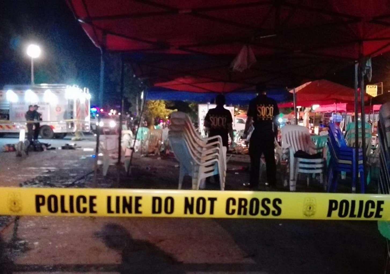 At least 14 dead in night market bomb blast in Davao, SE