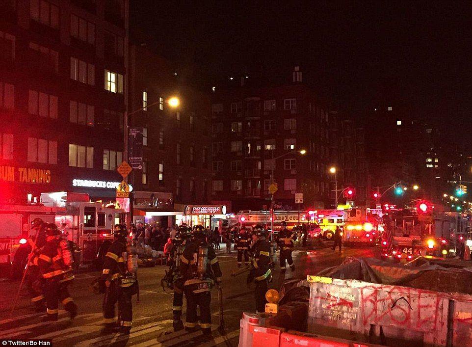 Loud blast in New York City's neighbourhood of Chelsea injures 29
