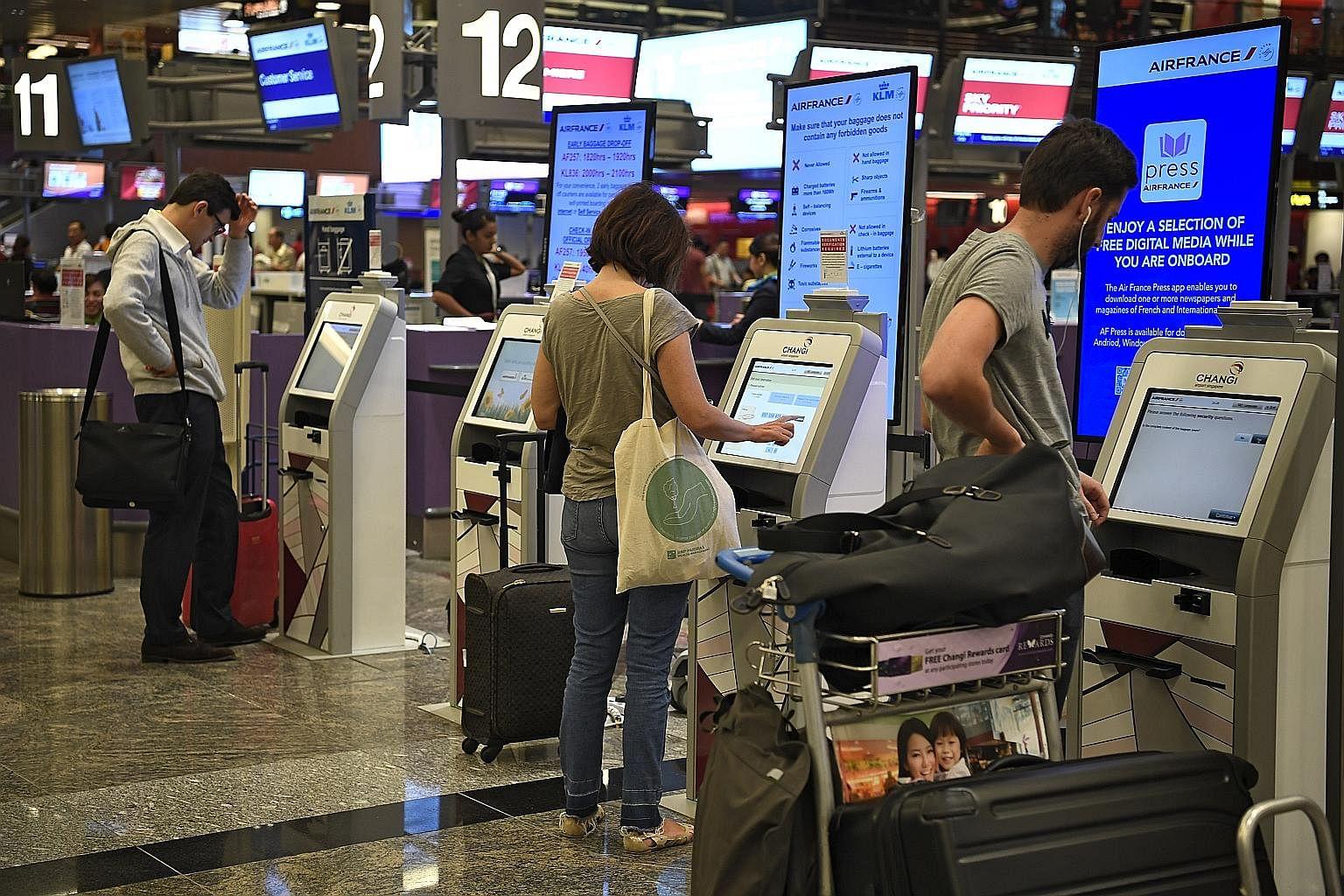 Breezing through airport security, Singapore News & Top Stories
