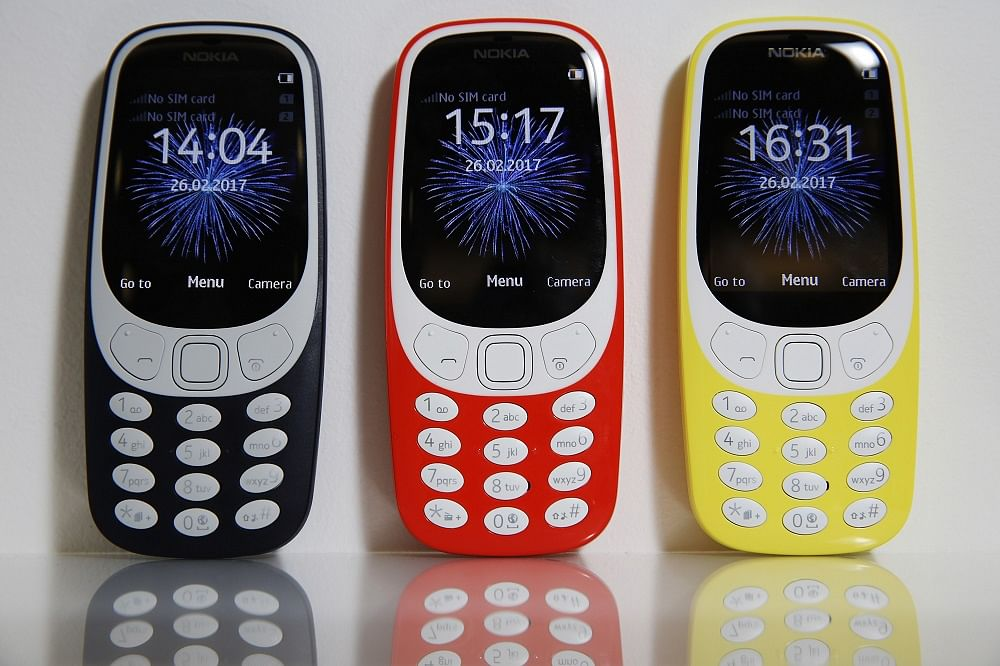 Image result for Nokia relaunches iconic 3310 mobile model