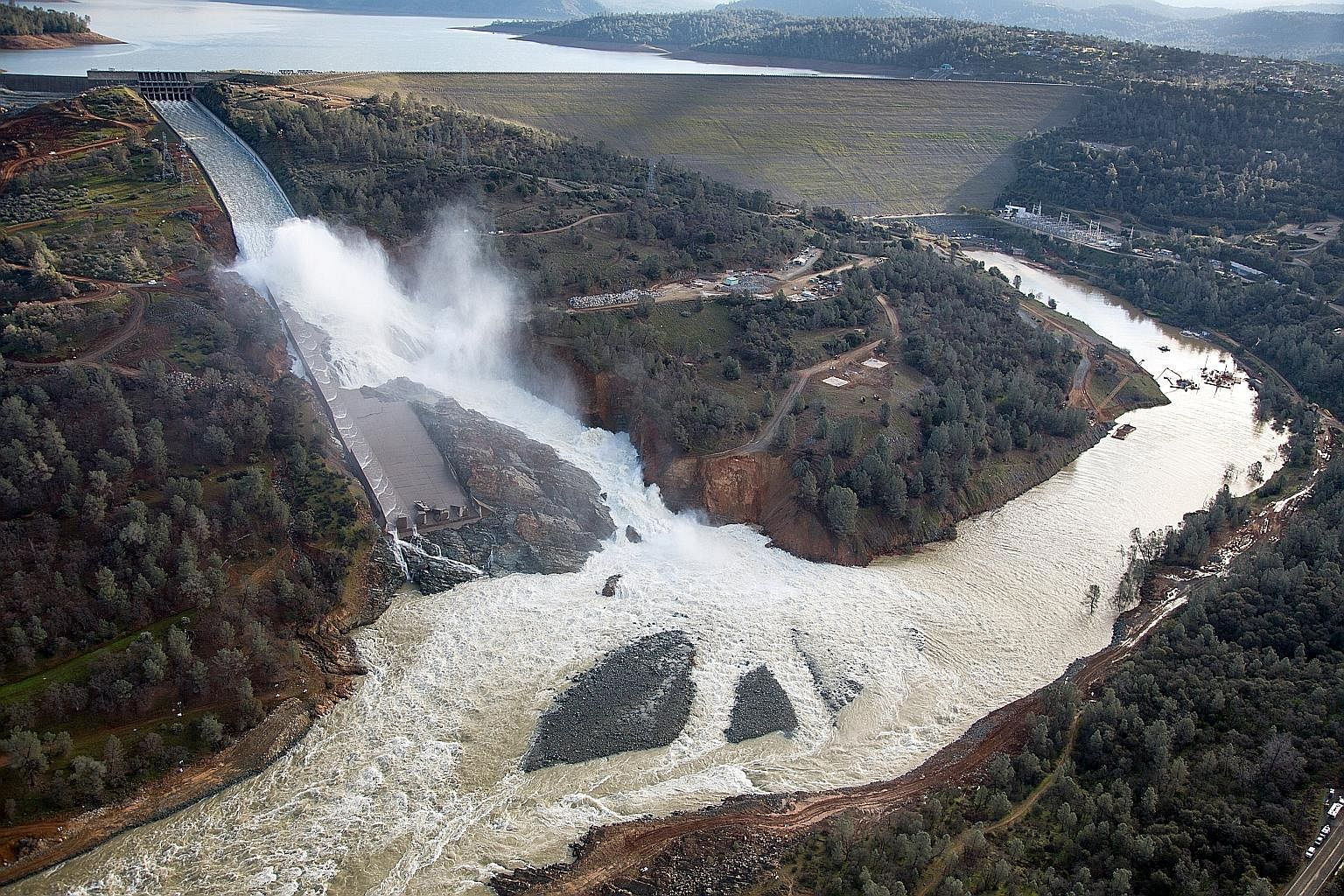 Nearly 200,000 residents had to evacuate their homes in February because of a damaged spillway at California's Oroville dam, built in 1968.