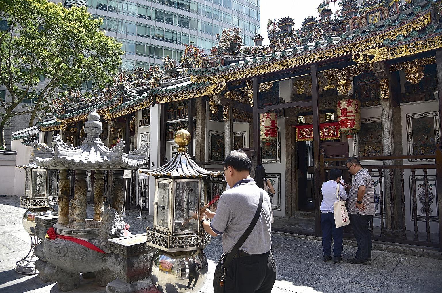 Matchmaking tempel i Singapore