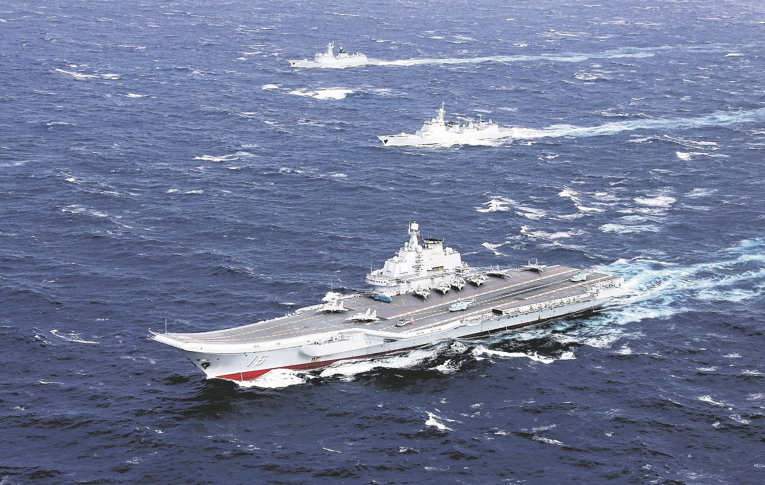 A Look Into The Building Military Force China Has Been Featuring Second Aircraft Carrier Turned Warship