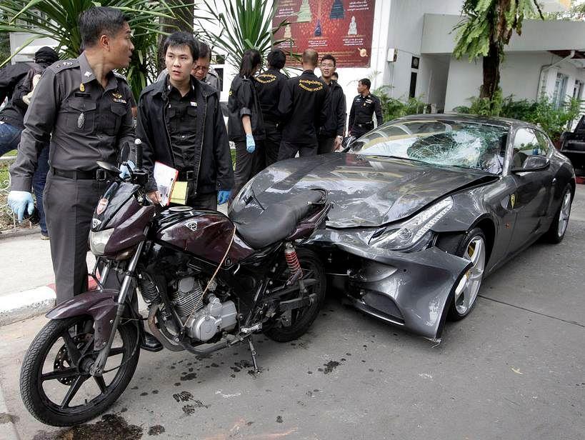 Thai gov't revokes passport of fugitive Red Bull heir