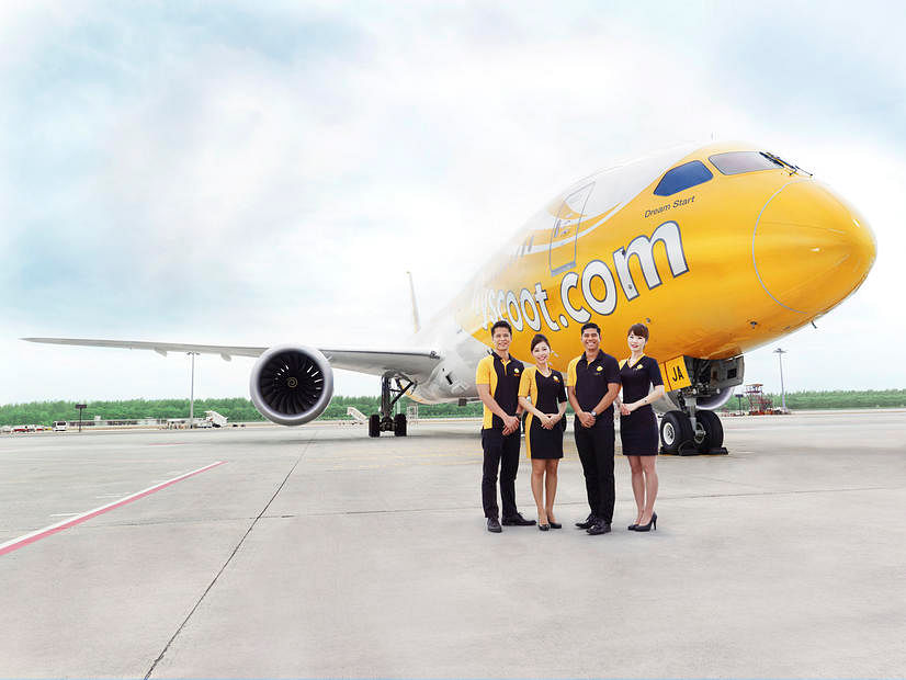 Scoot unveils latest Dreamliner for long-haul flights