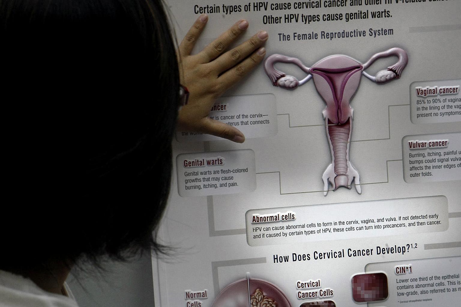 Image result for Many not keen to get cervical cancer jab