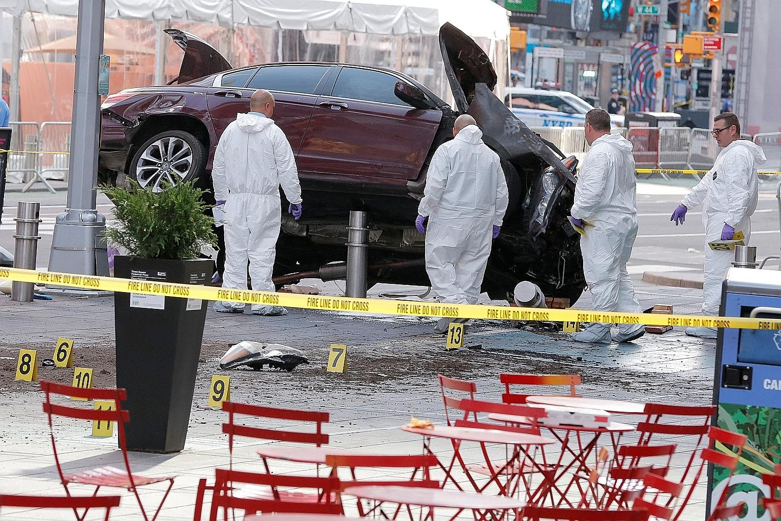 Richard Rojas, 26, a navy veteran from the Bronx, was high on synthetic marijuana when he went on his rampage on Thursday, unidentified police sources told ABC News. Rojas drove his Honda Accord at speed on the sidewalk for more than three city block