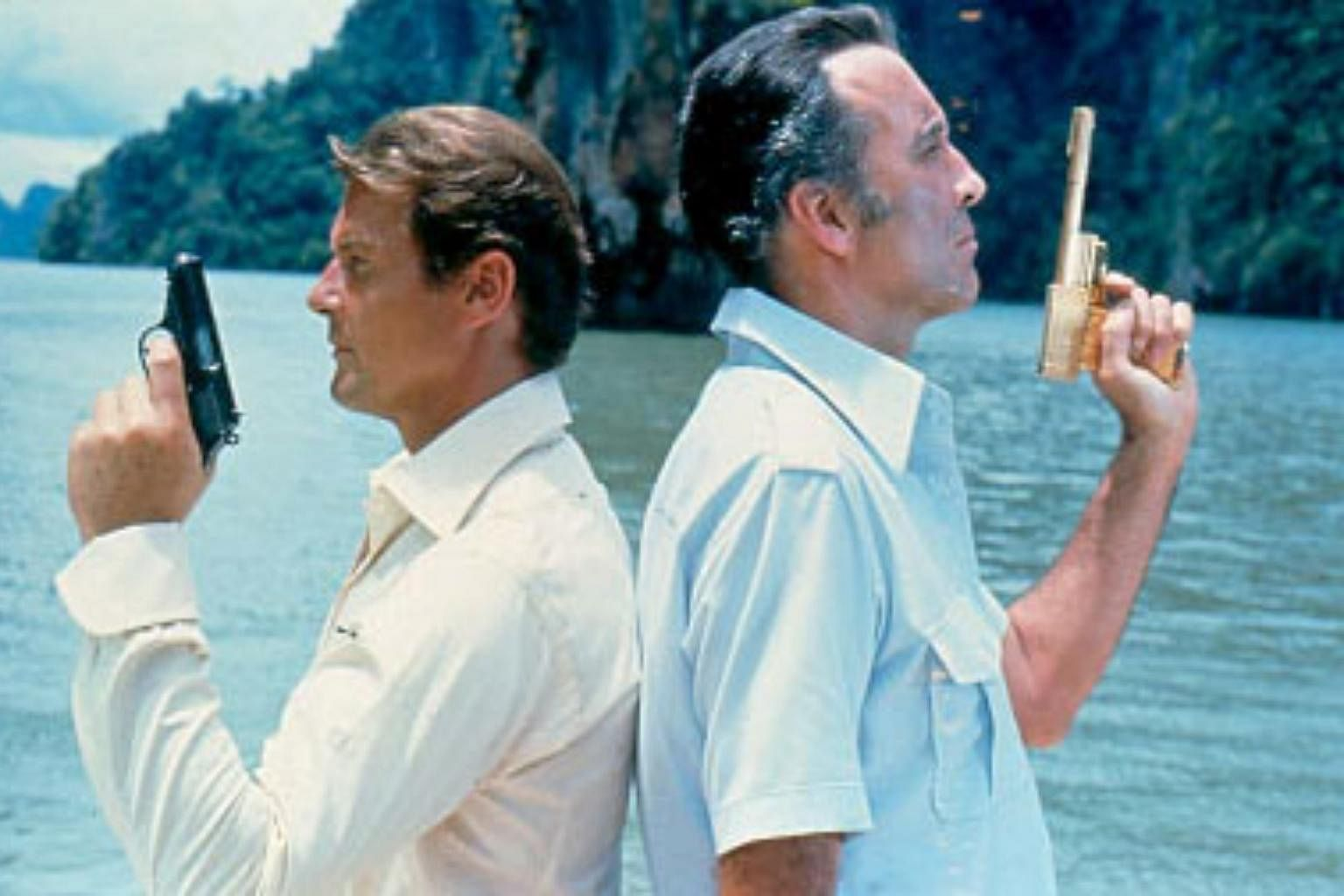Roger Moore ensured James Bond's cinematic survival