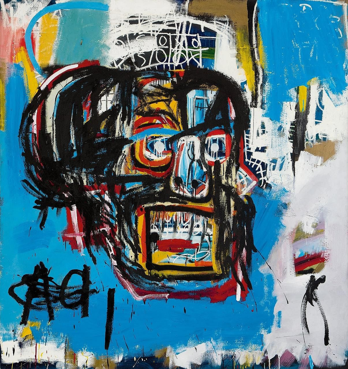 Founder of Japanese online fashion mall Zozotown Yusaku Maezawa bought Jean-Michel Basquiat's 1982 skull painting (above) for US$110.5 million (S$152.6 million).