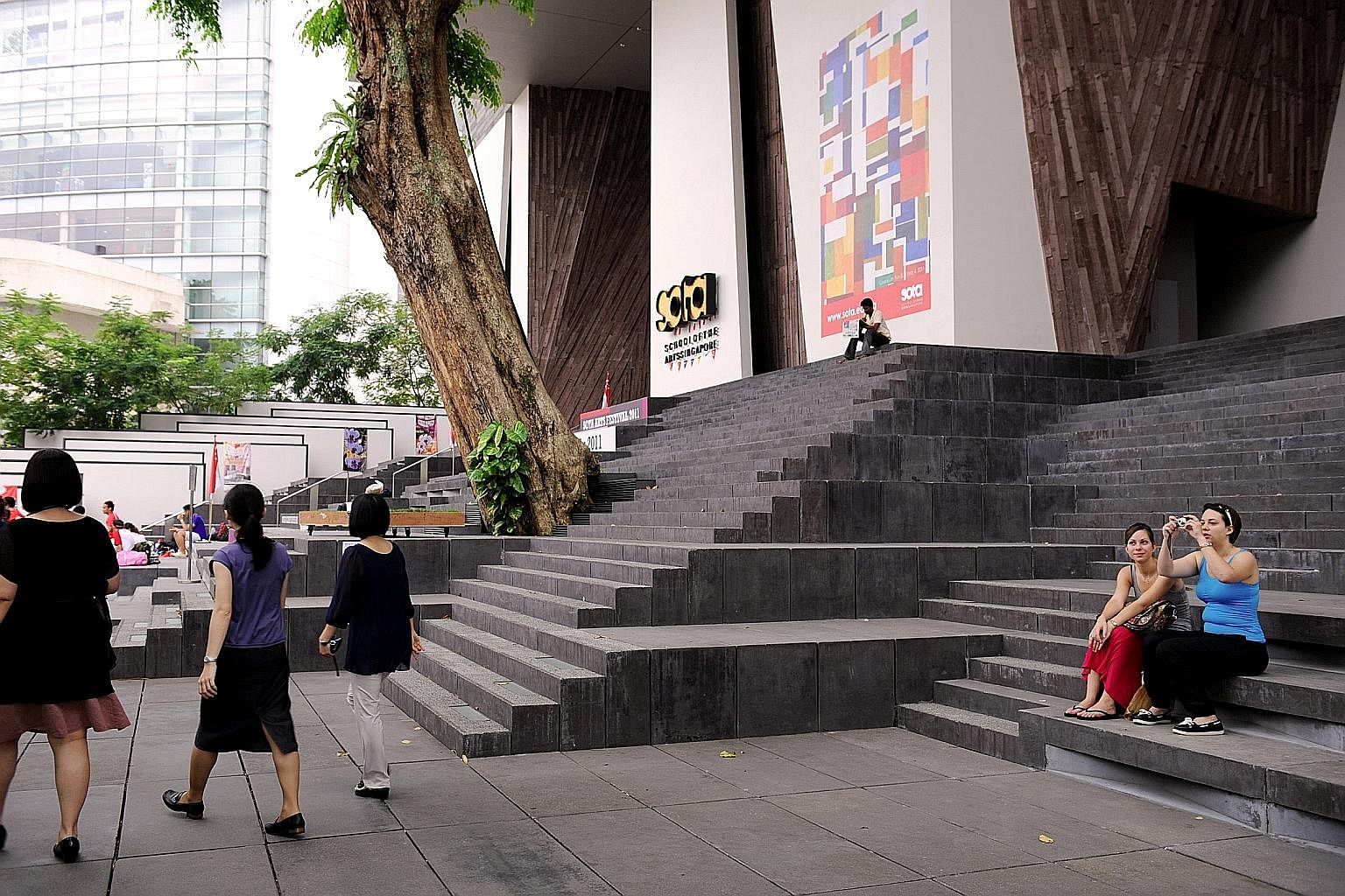 The School of the Arts campus in Orchard Road. With the centrepiece of Singapore's future economic strategy being creativity and innovation, the question is whether we should have a mini Sota in every school, says the writer.