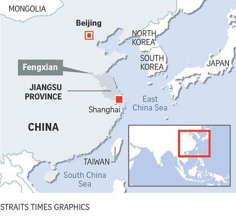 Map Of Asia For Kindergarten.Eight Killed Dozens Hurt In China Kindergarten Blast East Asia