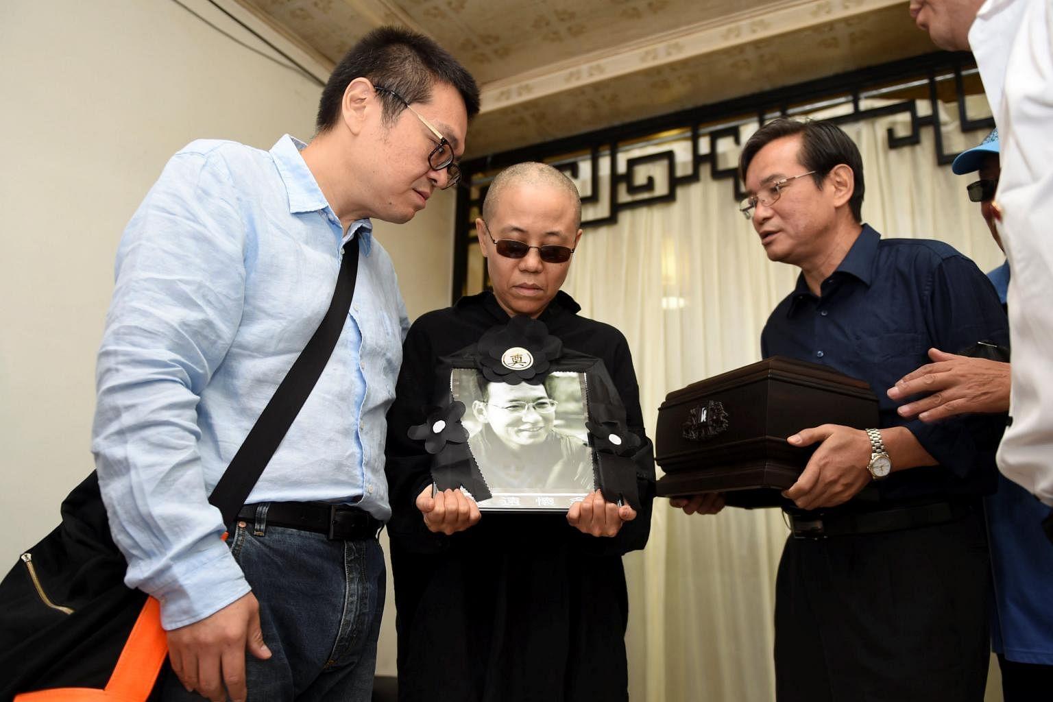 Freedom of Liu Xiaobo's widow a priority