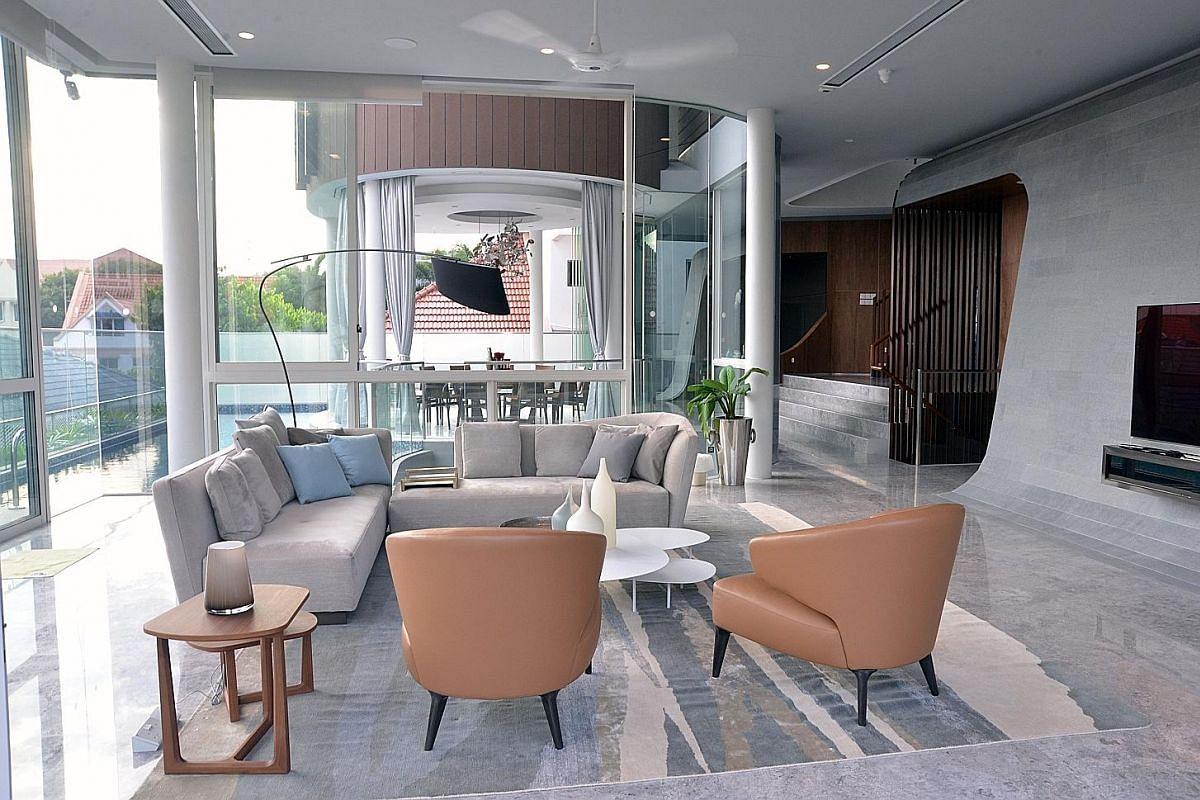A Peek Inside Three Beautiful Bungalows In Singapore Home Design