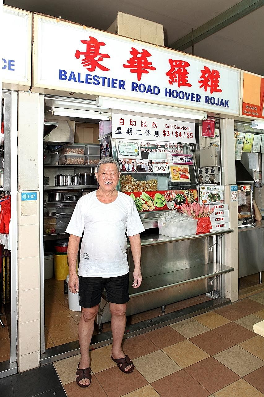 Hoover Rojak master still visited the stall while undergoing