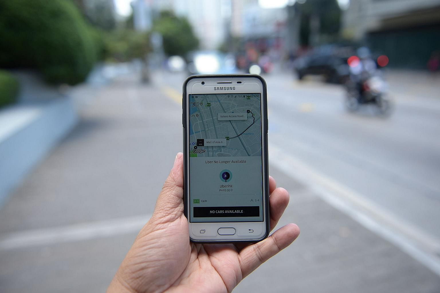 Philippines to lift Uber's suspension if it pays $5m fine