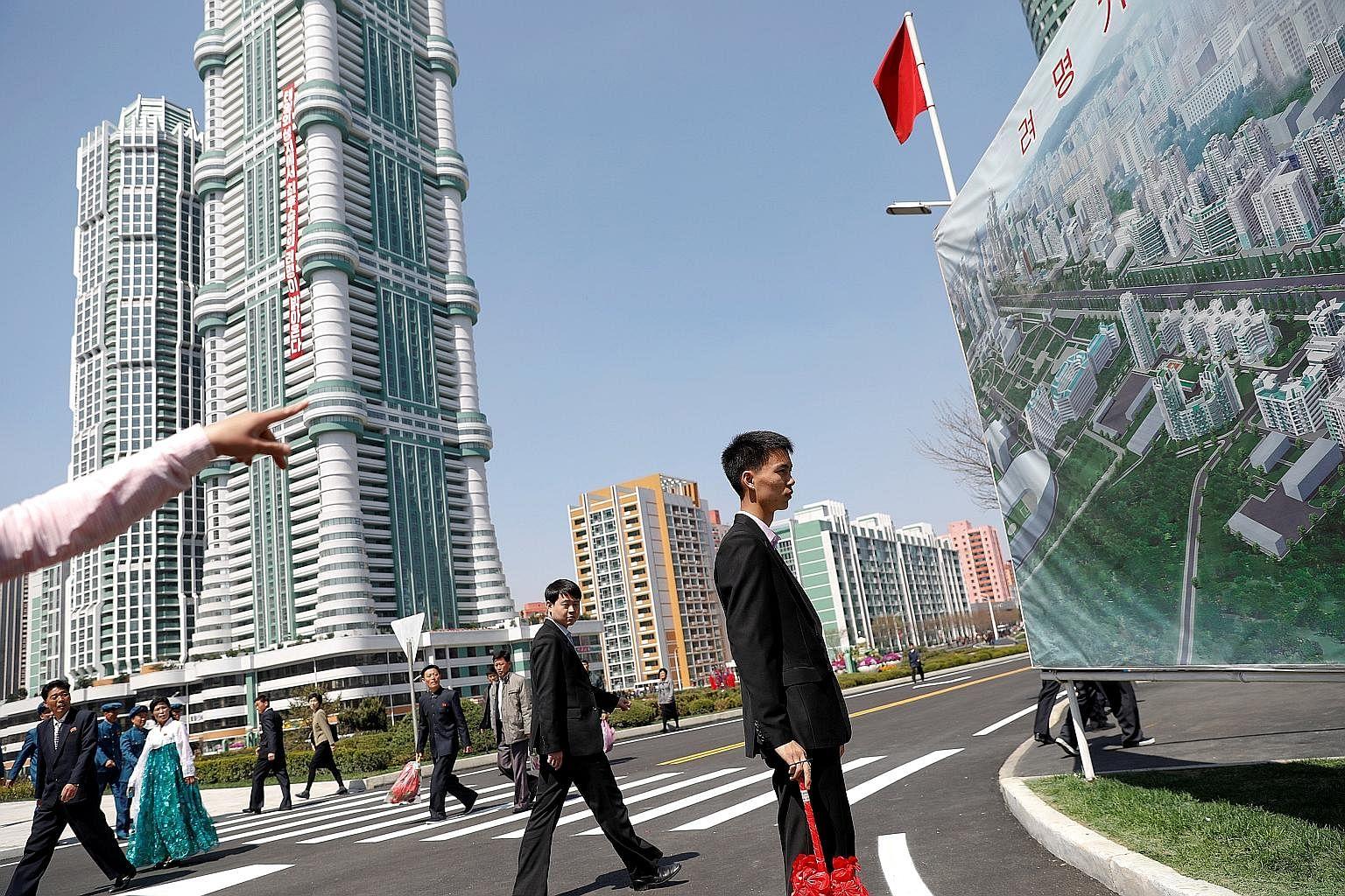 Pyongyang property market booms despite UN sanctions, East