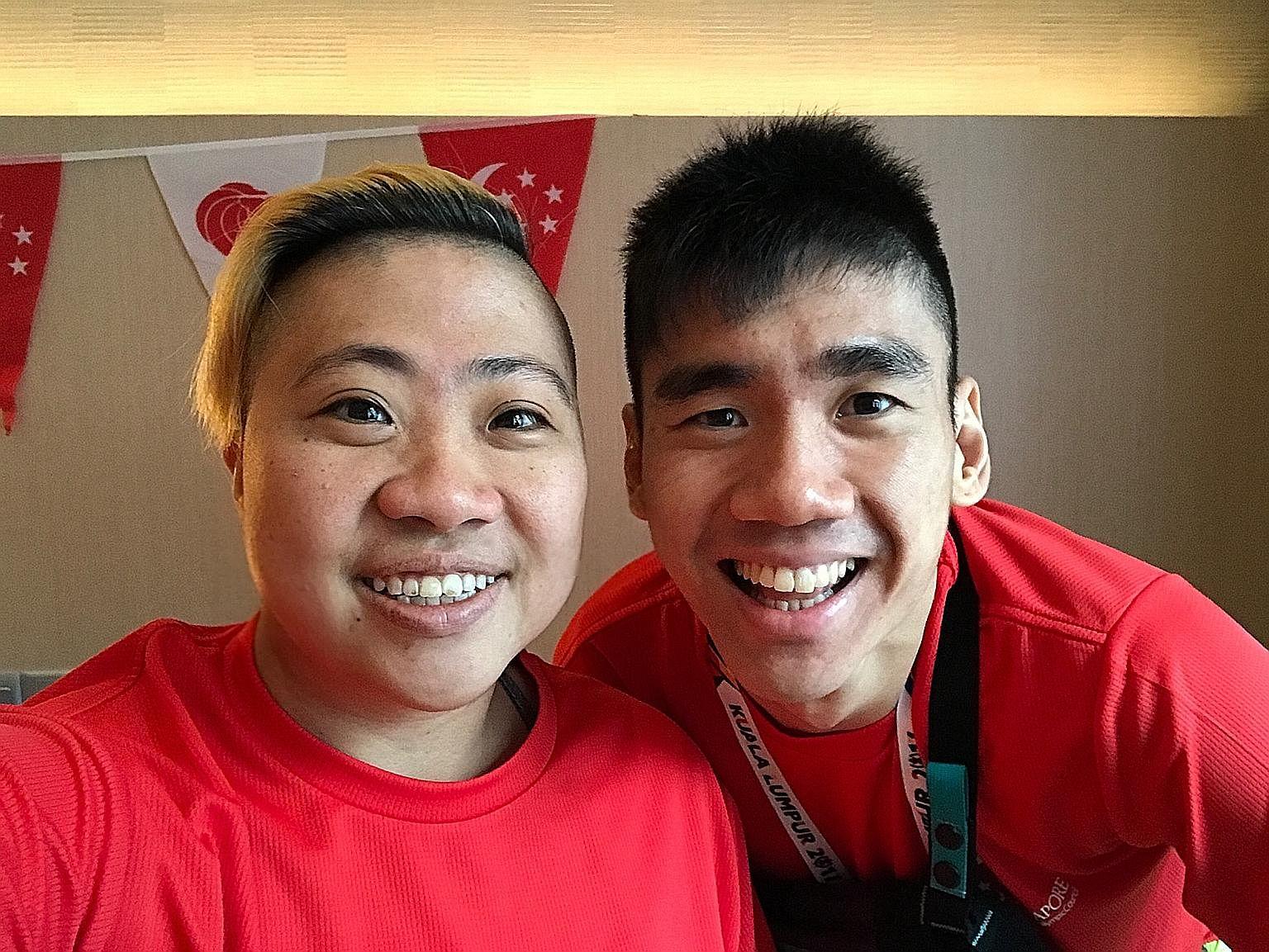 Para-swimmer Theresa Goh and para-shuttler Tay Wei Ming are hoping to strike gold at the Asean Para Games in Kuala Lumpur.