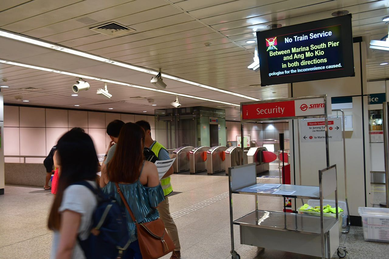 Full train service on NSL resumes after longest breakdown in SMRT history