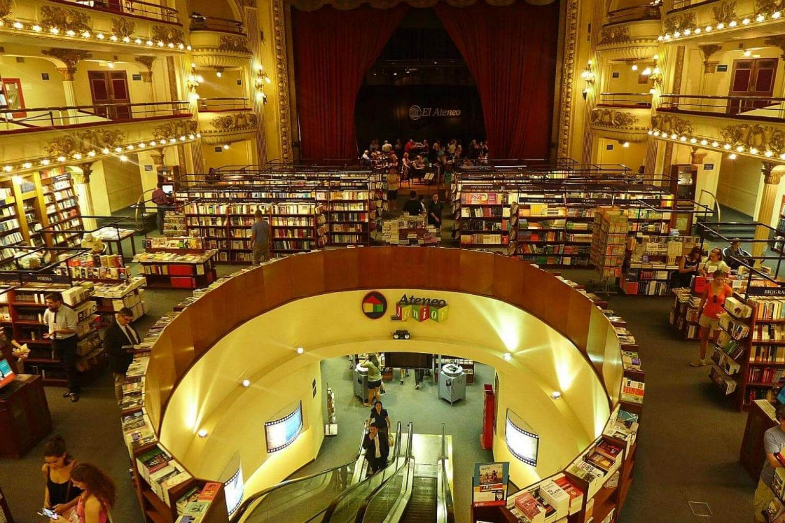 Often ranked one of the world s most beautiful bookstores d9f402ab96