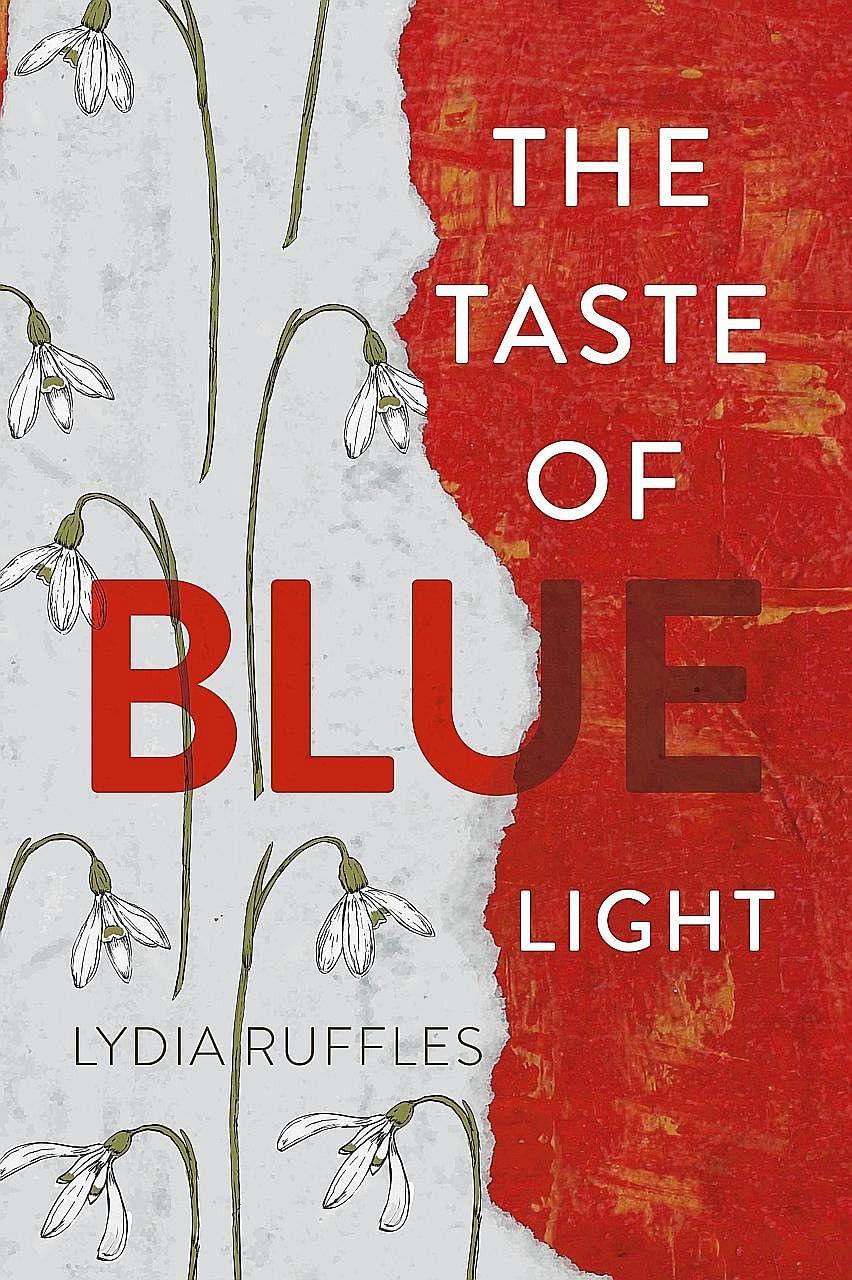 The Taste Of Blue Light is the debut novel of Lydia Ruffles (above).