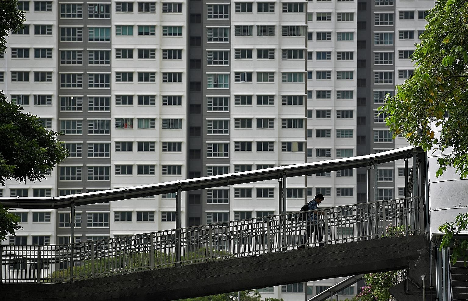 The average cost of constructing a pair of ramps is about $1.8 million, said former transport minister Lui Tuck Yew in Parliament in 2014. So far, 23 bridges have been fitted with lifts, and works on another 24 bridges are to be finished by the end o