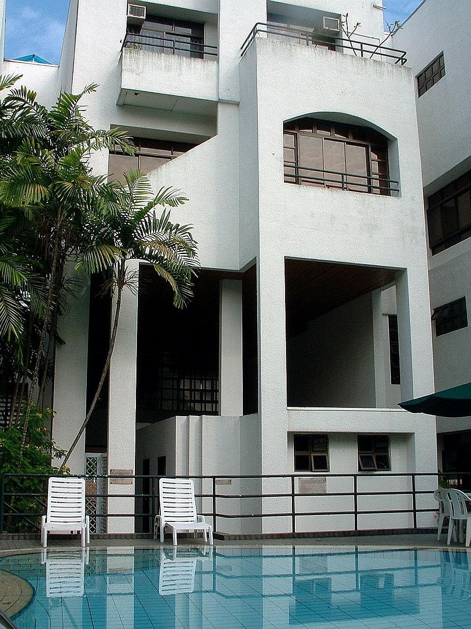 Casa Contendere, near Newton MRT, is a four-storey block with 11 maisonette units.