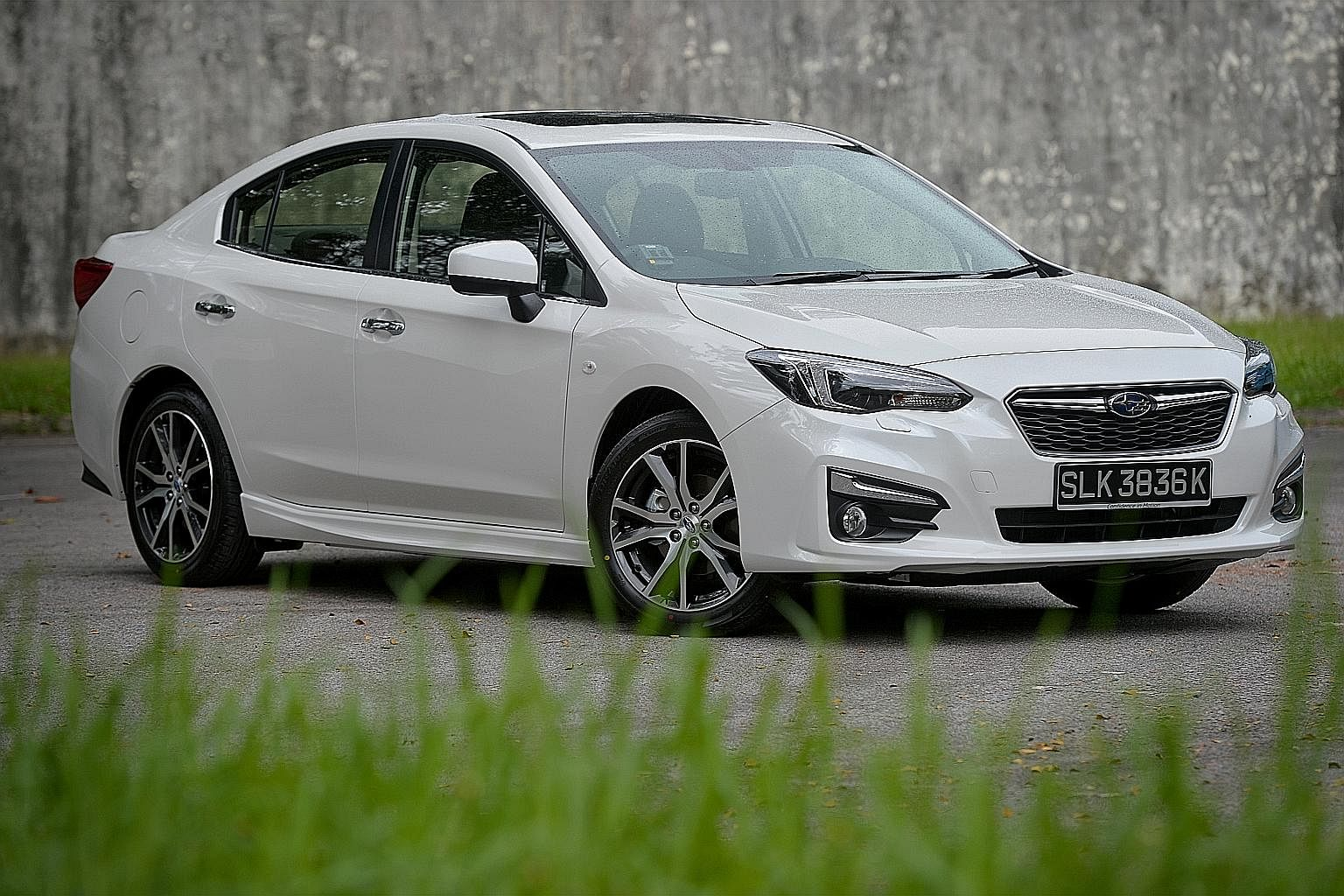 Renault Megane Sedan, Toyota Corolla Altis, Subaru Impreza and Mazda 2.