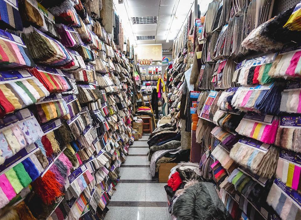 Fabrics at Nam Cheong Street