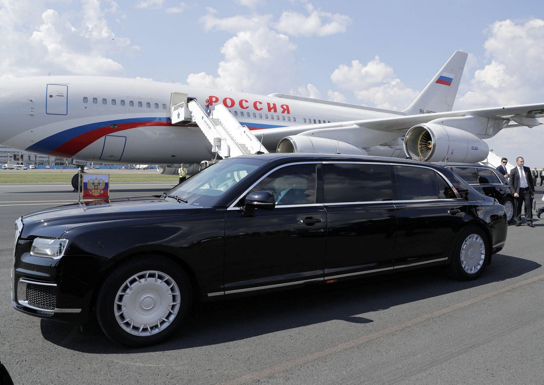 Limousine Vladimir Putin in 2018 68