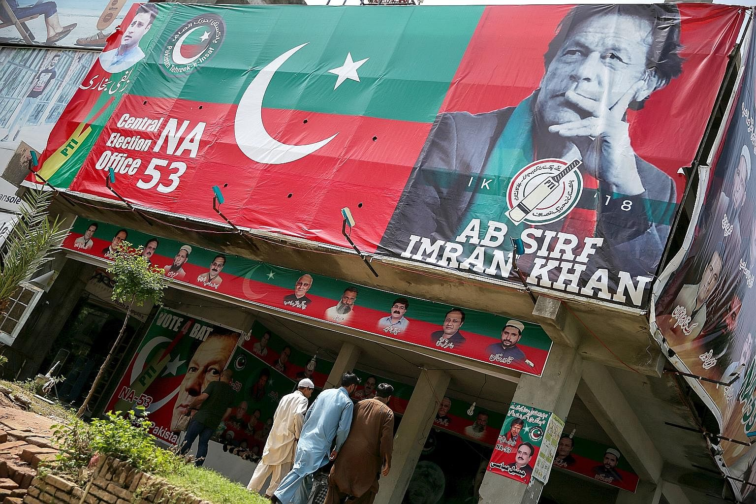 Much stock is being placed on cricket star-turned-politician Imran Khan, chairman of Pakistan Tehreek-e-Insaf, the single largest party in the National Assembly after last week's general election, to stabilise the country and improve relations with i