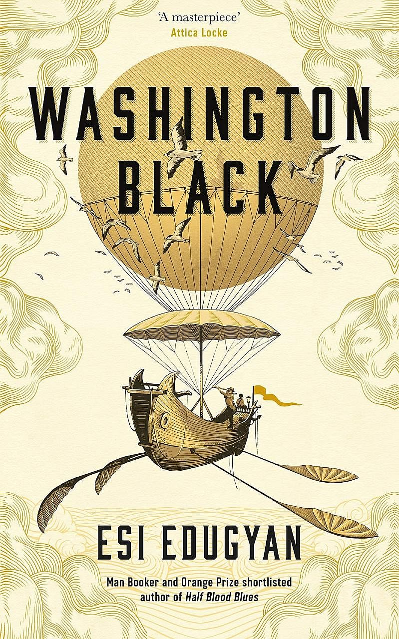 Washington Black (below) is the third novel by Esi Edugyan (above) and her second on the Man Booker Prize shortlist.