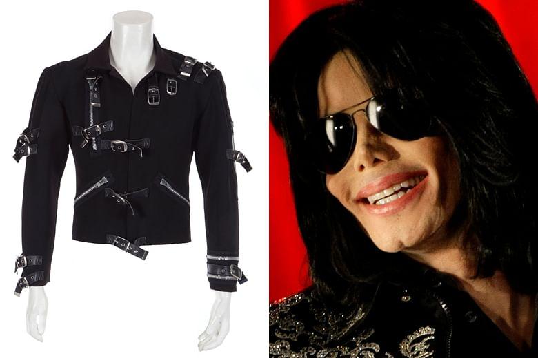 f48a66998a Michael Jackson s  Bad  tour jacket sold at auction