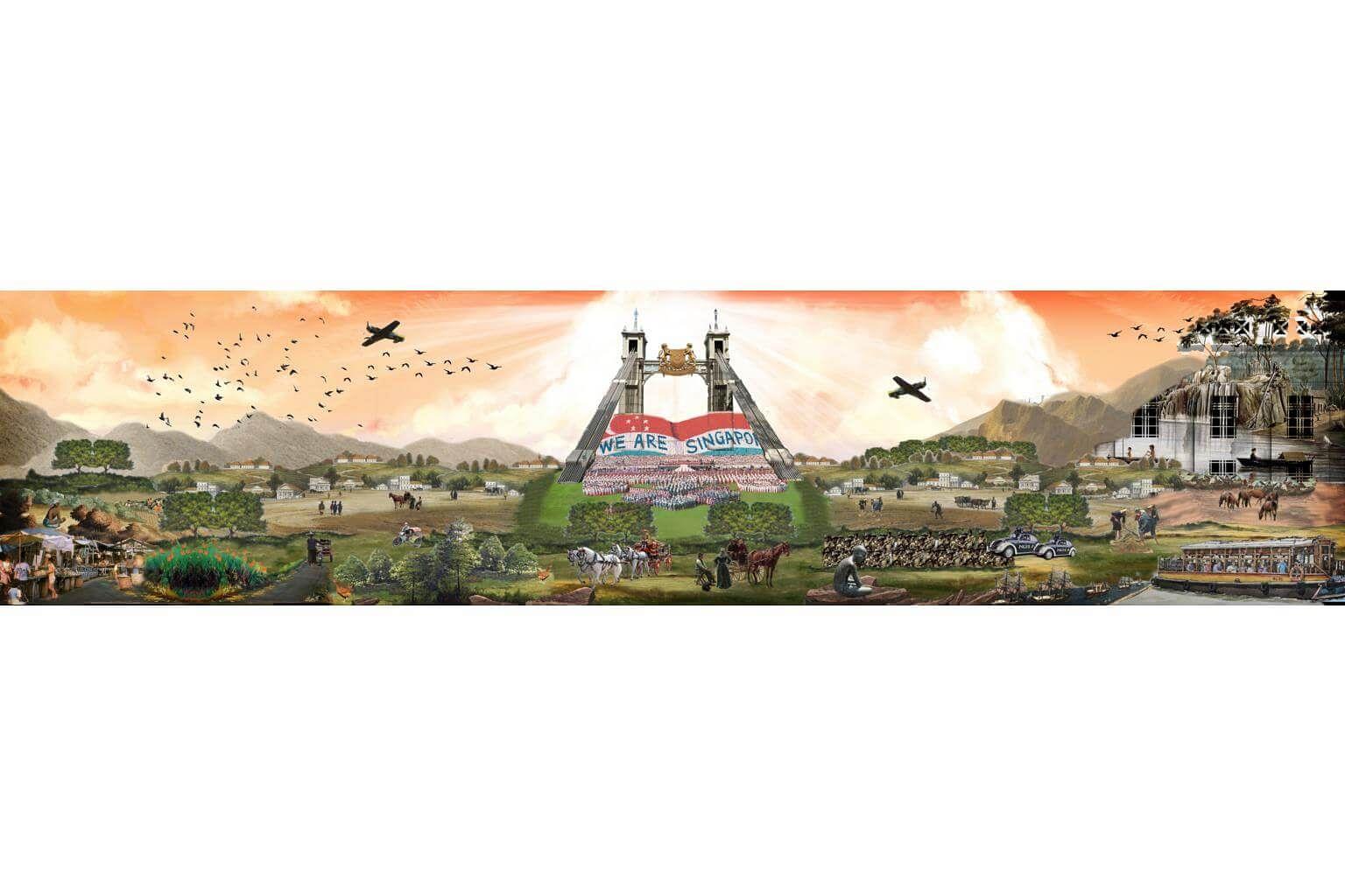 Singapore's Bicentennial Calendar: Journeying back 700 years