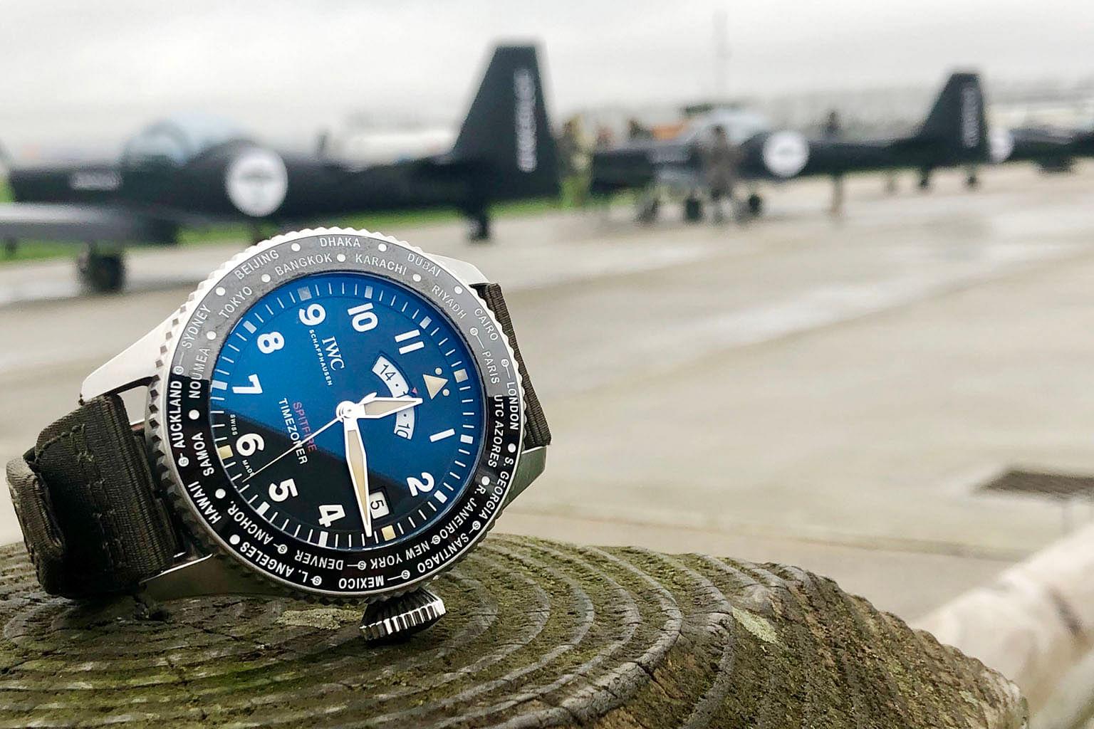 cd7d7faf340 WC Pilot s Watch Timezoner Spitfire Edition