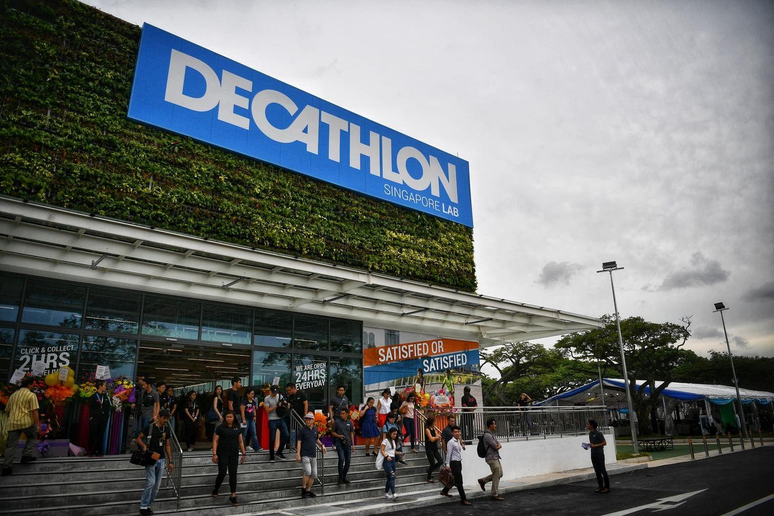 """Résultat de recherche d'images pour """"decathlon singapore lab"""""""