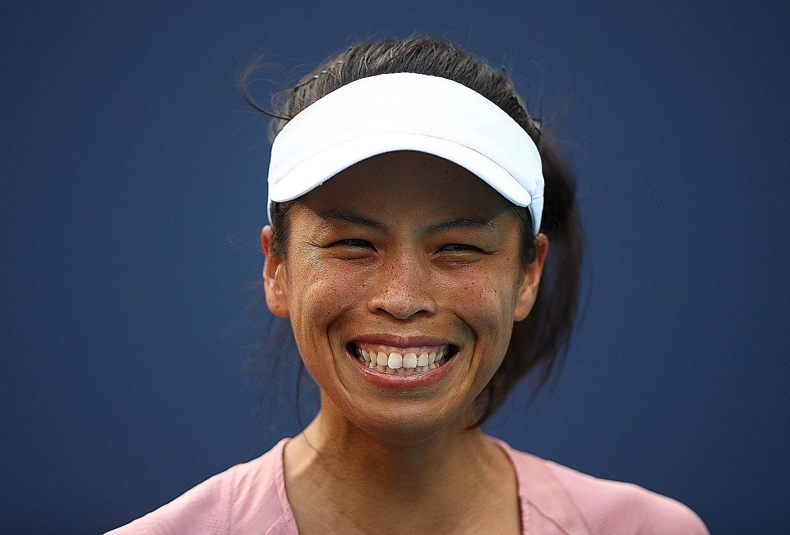 After her defeat by Hsieh Su-wei in Miami on Saturday, Naomi Osaka may lose her No. 1 ranking, with Romania's Simona Halep and Czech Petra Kvitova closing in on her.