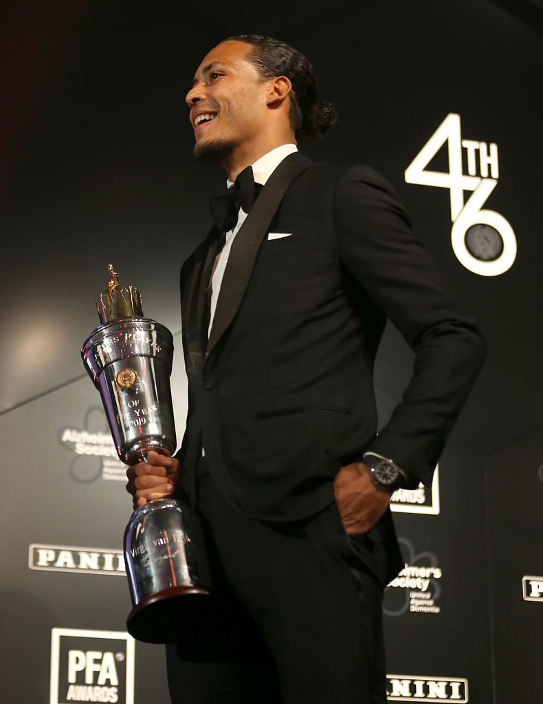 Pfa Award Special But Van Dijk Focused On Barcelona Football News Top Stories The Straits Times