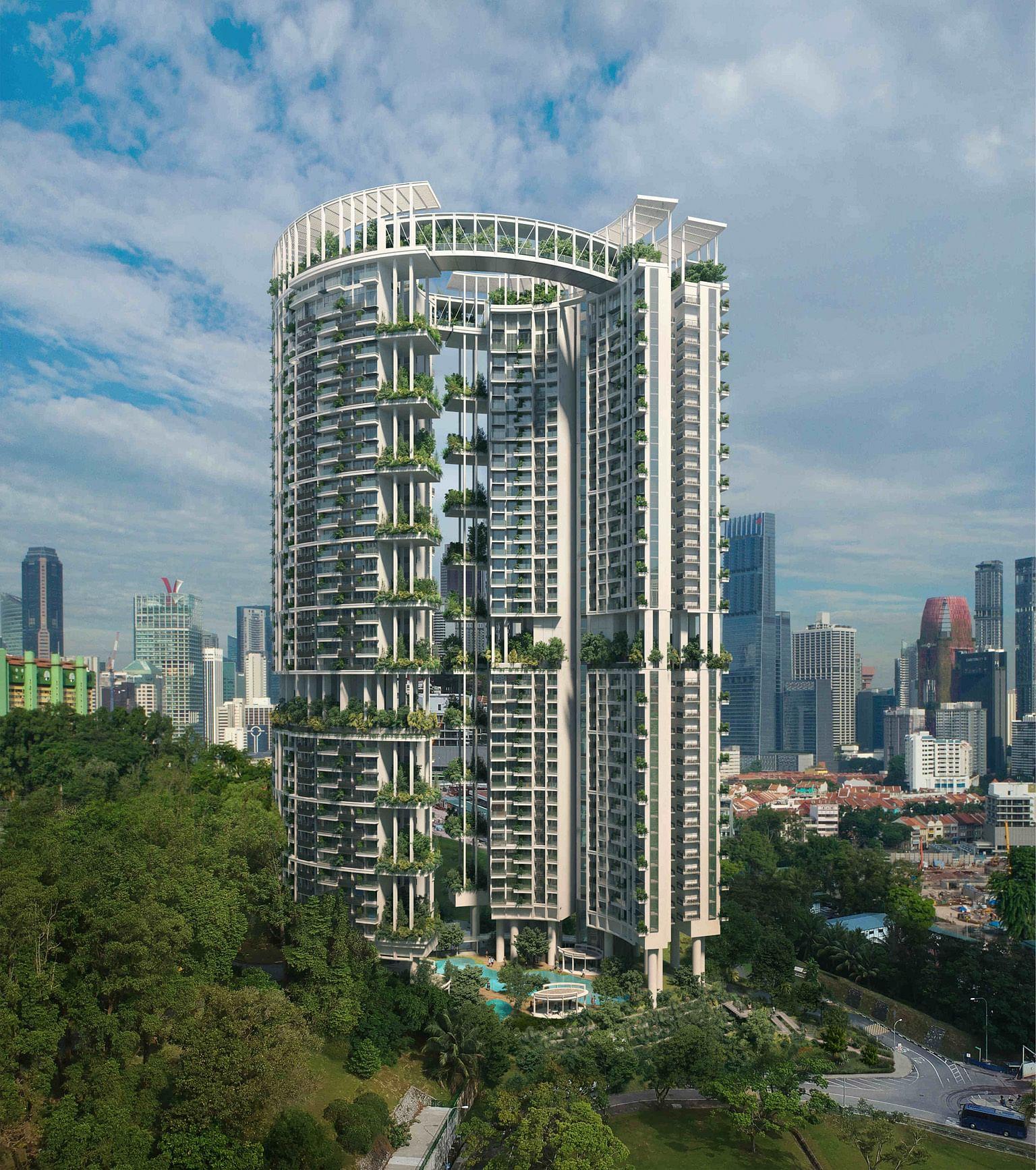 Condo Apartment: Condo Design For Pearl Bank Site Unveiled, Singapore News