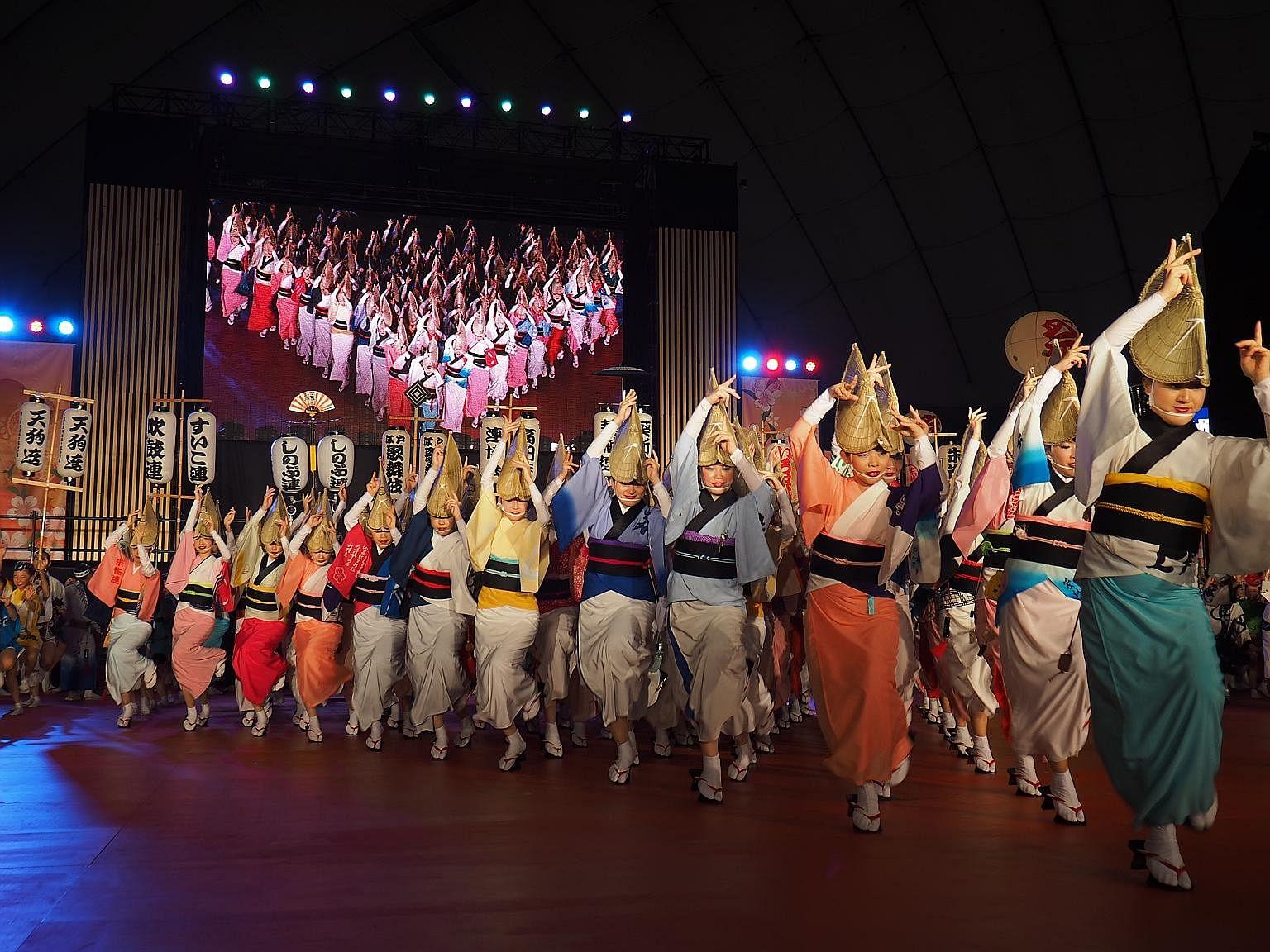 At RWS Summer Matsuri, kids can enjoy Japanese films, try Japanese food and catch live performances of the Tokyo Koenji Awa-Odori dance.