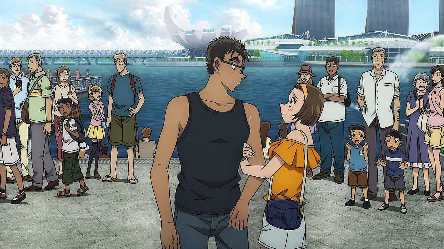 Detective Conan film set in Singapore, Entertainment News