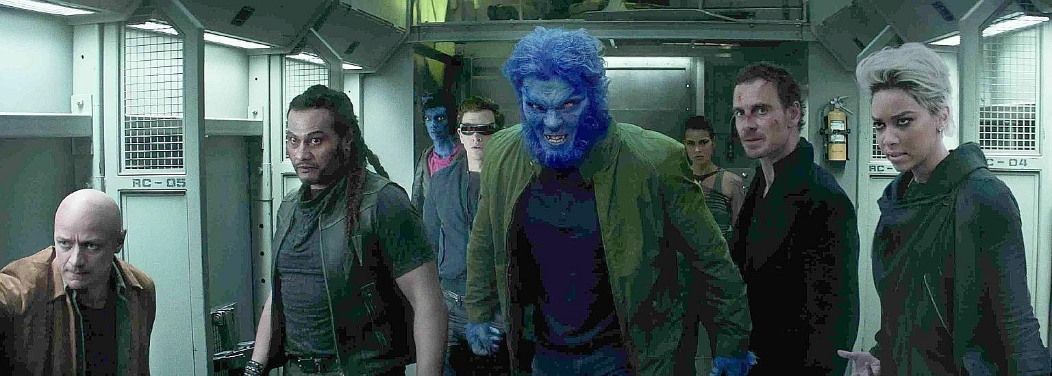 The X-Men preparing for battle in Dark Phoenix.