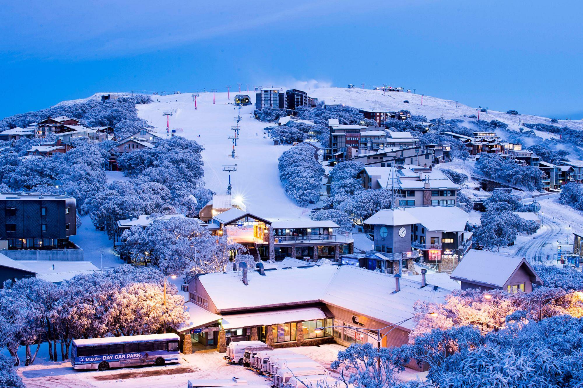 Winter holidays in Mount Buller, Victoria, Australia