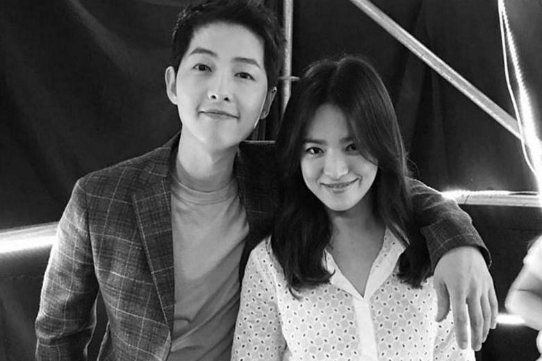 Descendants Of The Sun couple Song Hye-kyo and Song Joong-ki
